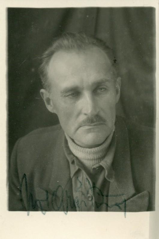 """J. Graičiūnas Kačiugo taigoje, už """"dekabristų trakto"""". 1950 m. pradžia"""