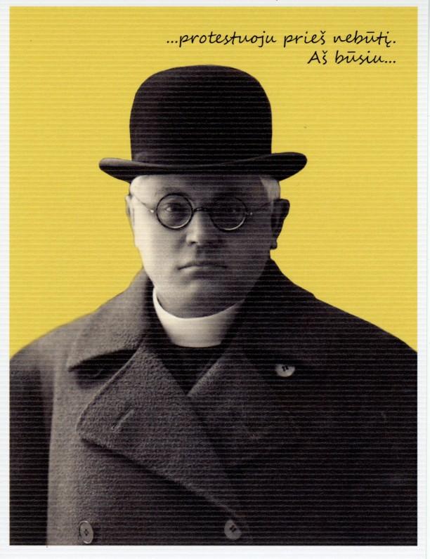 1. Rašytojas Juozas Tumas-Vaižgantas. Kaunas. 1920 m.