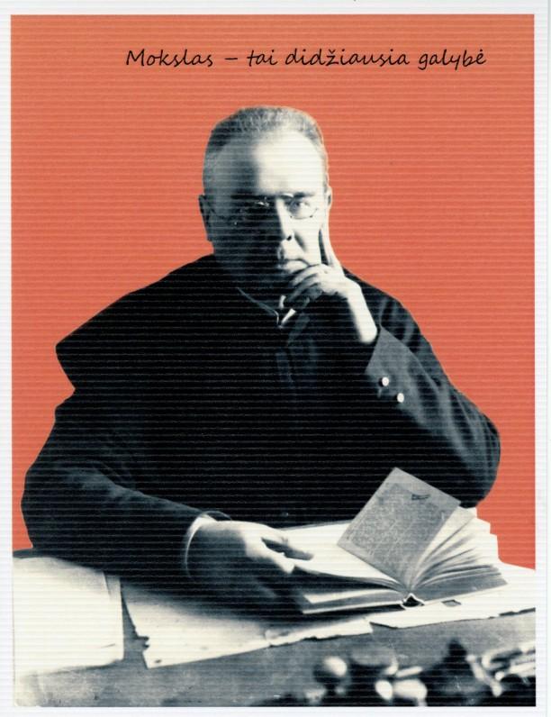 3. Poetas Maironis. Kaunas. Apie 1922 m.
