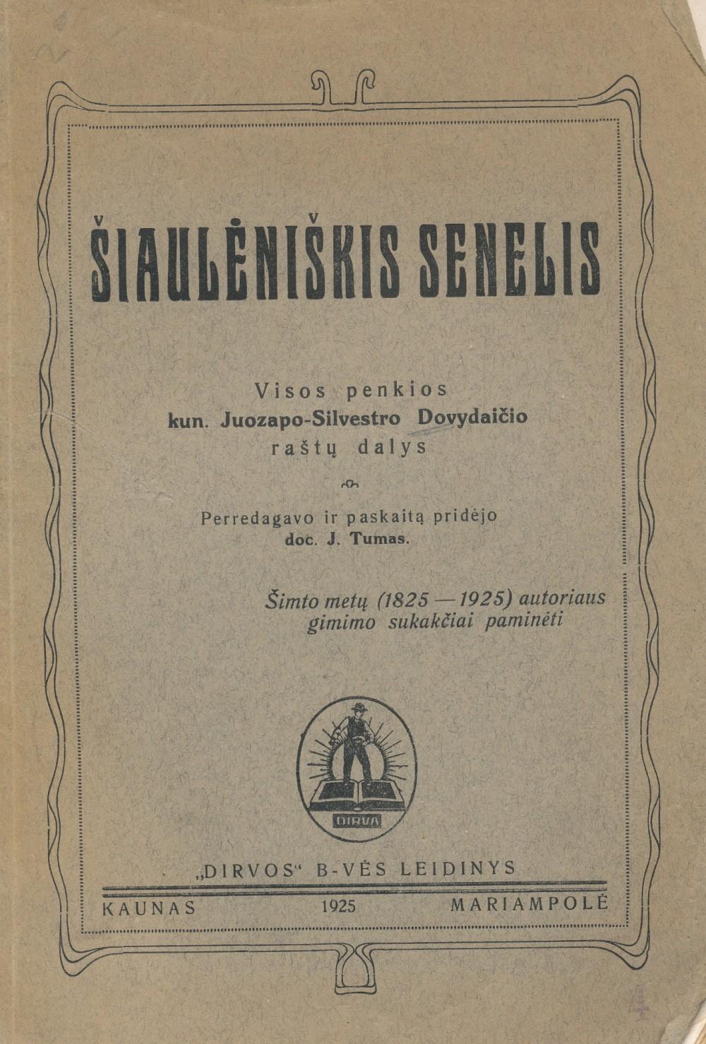 Apysakoje rašoma apie 1863–1864 m. sukilimą, spausdinami M. Valančiaus laiškai sukilėliams