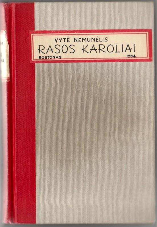 """B. Brazdžionio knygos """"Rasos karoliai"""" kopija"""