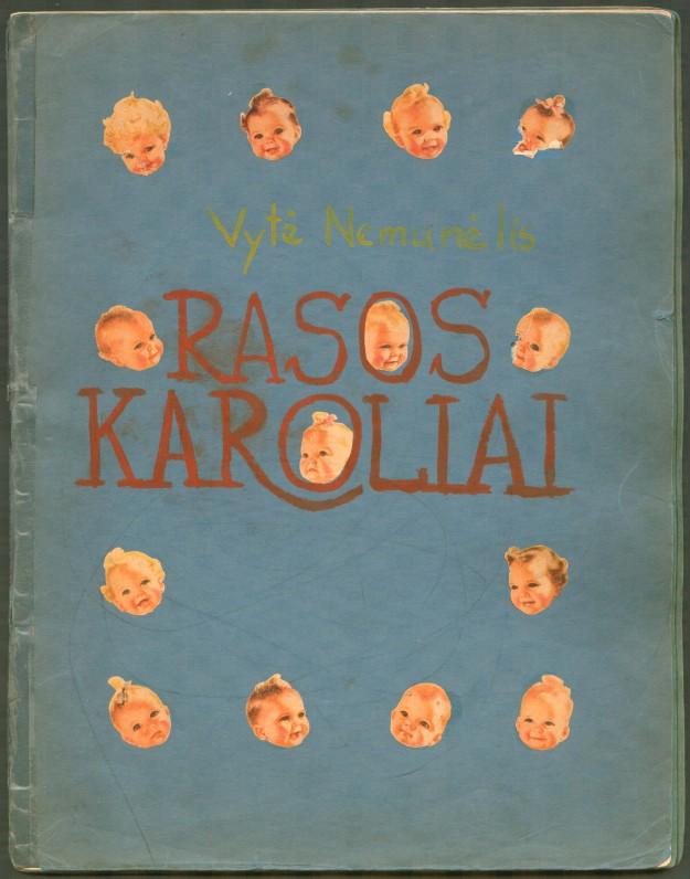 """B. Brazdžionio rankraštinė knyga """"Rasos karoliai"""""""