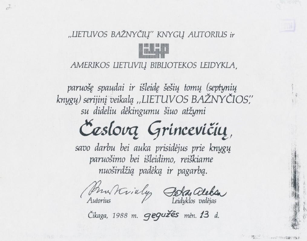 Diplomas…
