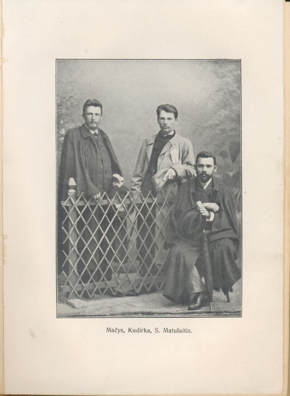 """Įklija V. Kudirkos """"Raštuose"""". T. I. Tilžė. 1909 m. Parengė J. Gabrys"""