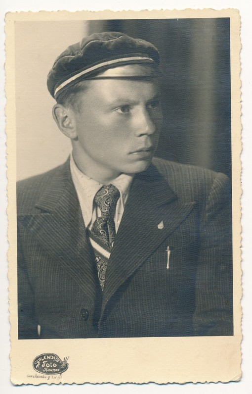 Kazys Bradūnas, 1939 m.