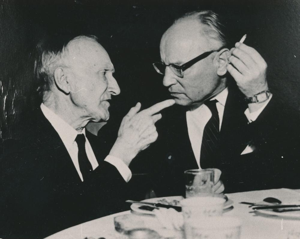 M. Vaitkus ir F. Kirša. Bostonas, 1962 m.