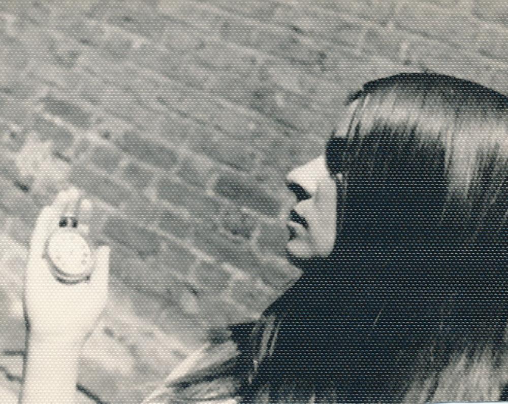 N. Miliauskaitė. Apie 1974 m.
