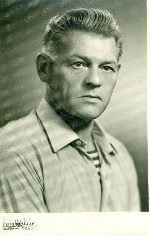 P. Širvys. Klaipėda, 1968 m.