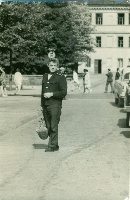 P. Širvys. Klaipėda, apie 1968 m.