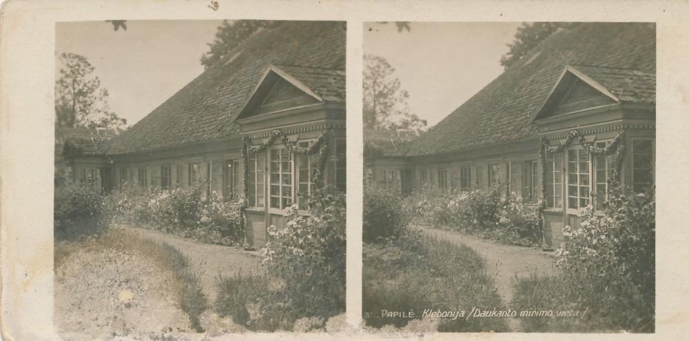 Papilės klebonija, kurioje 1861–1864 m. gyveno S. Daukantas