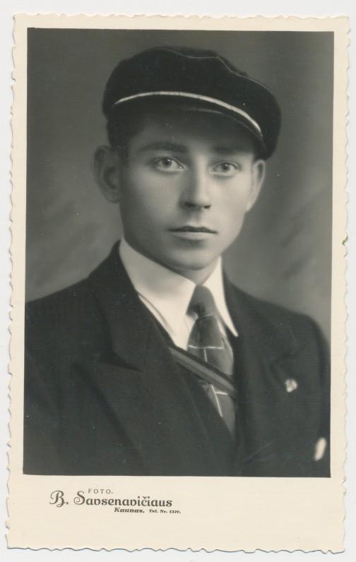 Petras Rimkūnas – jaunasis redaktorius. Apie 1934–1937 m. Boleslovo Savsenavičiaus nuotrauka