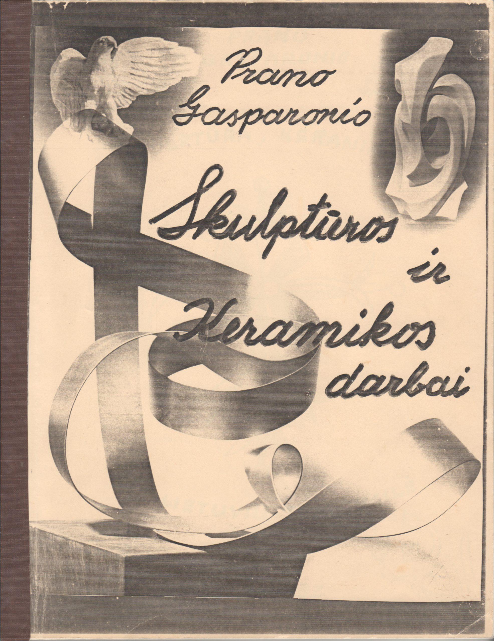 P. Gasparonio darbų katalogas. 1933–1992 m.