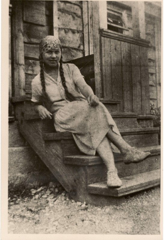 S. Nėris. Palanga, 1927 m.