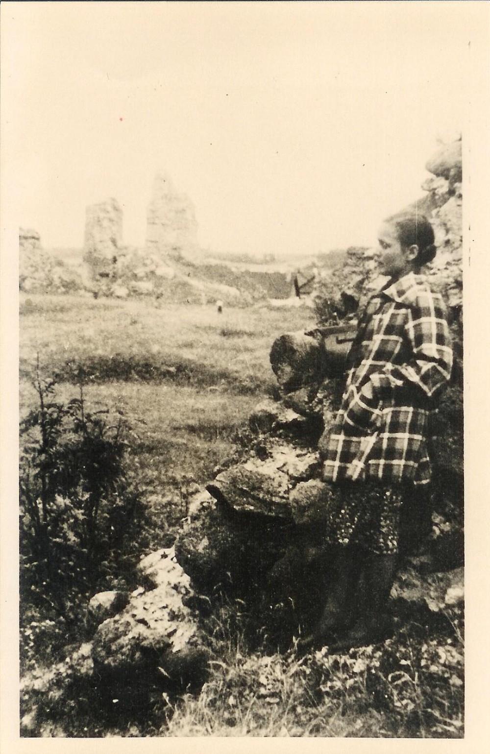 Salomėja Nėris ekskursijos metu