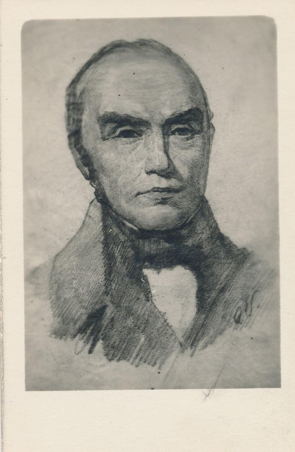 Simonas Daukantas. Atvirukas, išleistas apie 1930 m.