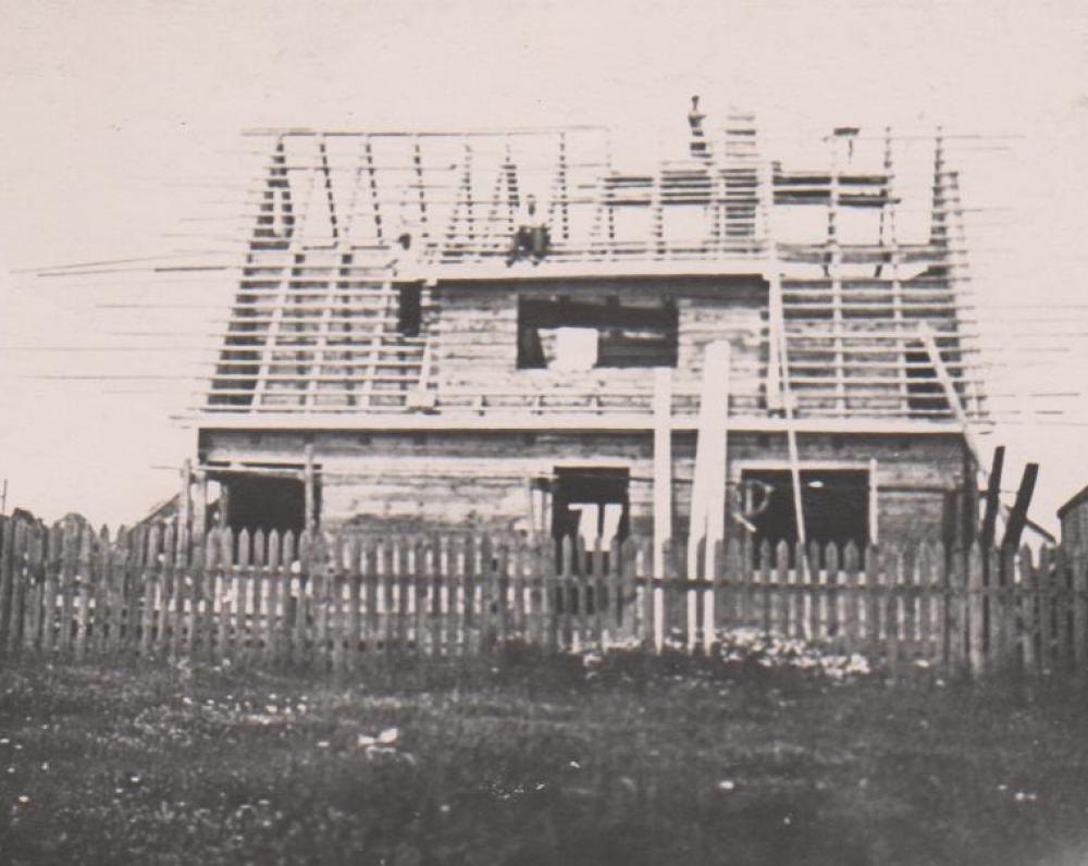 Statomo namo vaizdas iš pietų pusės. Kaunas. 1938 m. vasara