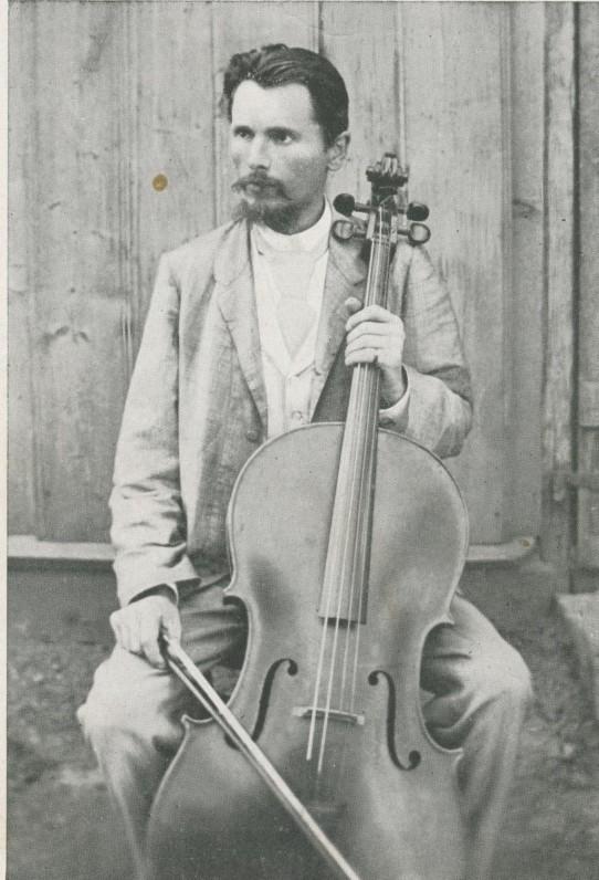 V. Kudirka apie 1893 m. Atvirukas
