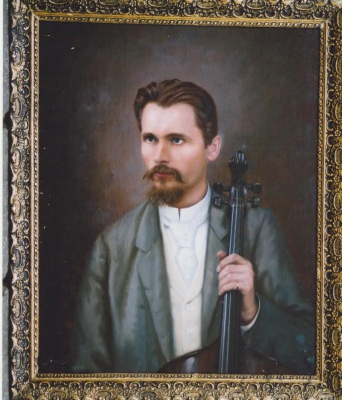 V. Kudirkos portretas. Dail. Jozsefas Senyei. 1934 m. (drobė, aliejus)