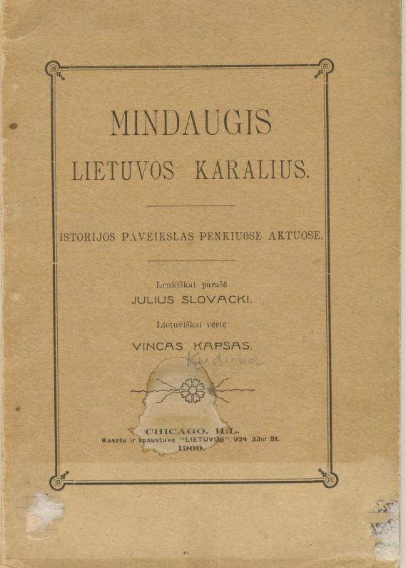 V. Kudirkos vertimas iš lenkų kalbos