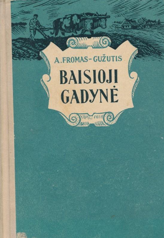 """Vilnius. 1955 m. Dramoje """"Baisioji gadynė"""" vaizduojamas 1863 m. sukilimas"""