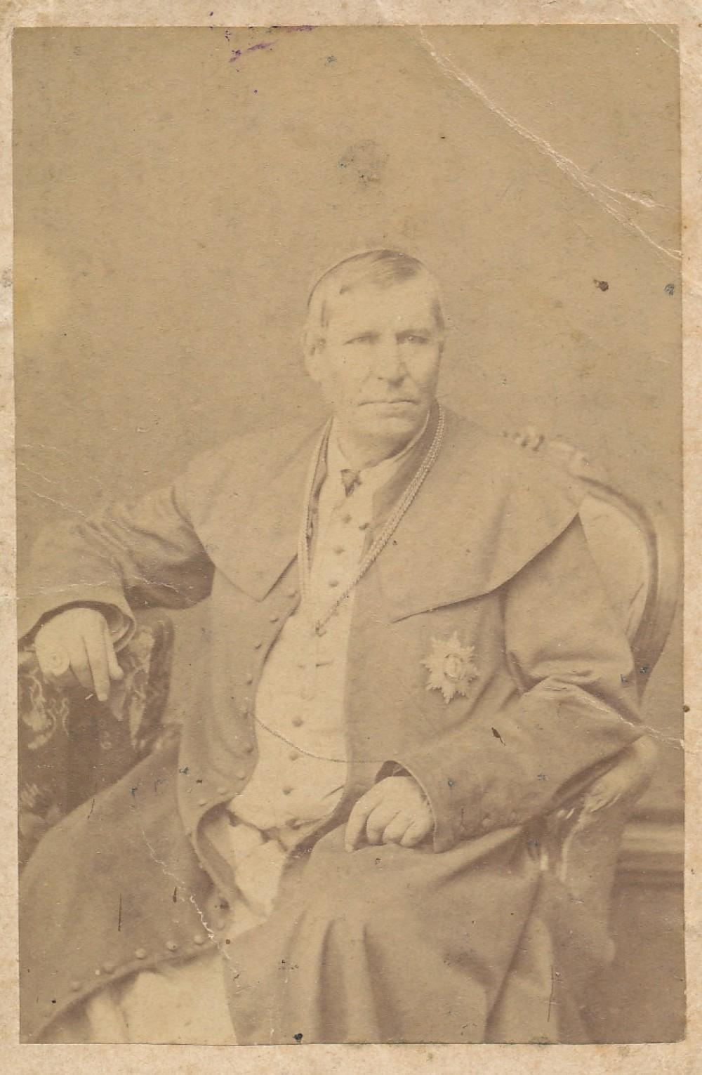 Žemaičių vyskupas Motiejus Valančius. 1868 m.