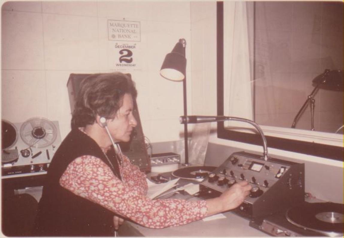"""""""Margučio"""" radijo stotyje. Čikaga, 1972 m."""