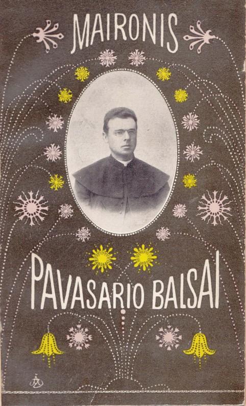 """""""Pavasario balsai"""". Kaunas. 1913 m."""