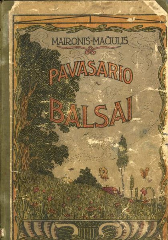 """""""Pavasario balsai"""". Tilžė. 1920 m."""