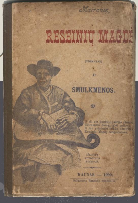 """""""Raseinių Magdė"""". Kaunas. 1909 m."""