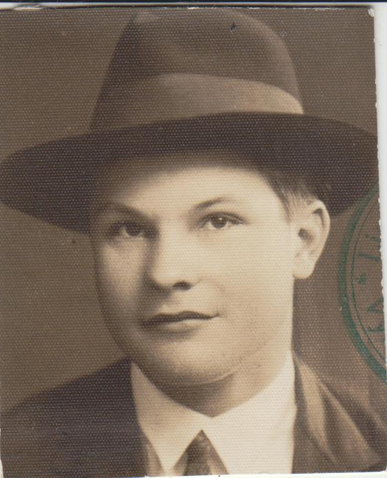 Stepas Zobarskas apie 1929 m.