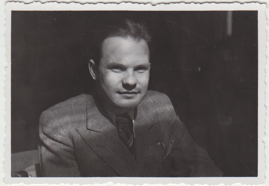 Stepas Zobarskas apie 1944 m.