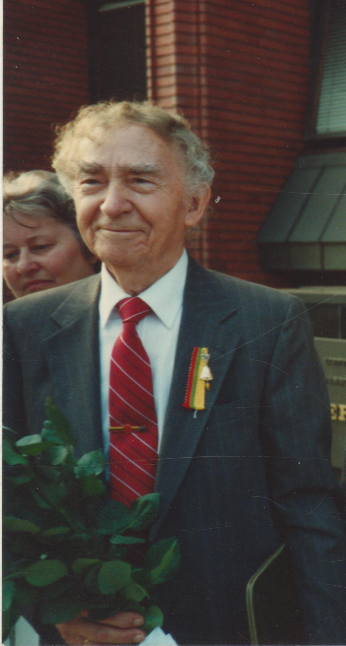 Bernardas Brazdžionis Lietuvoje. 1989 m.