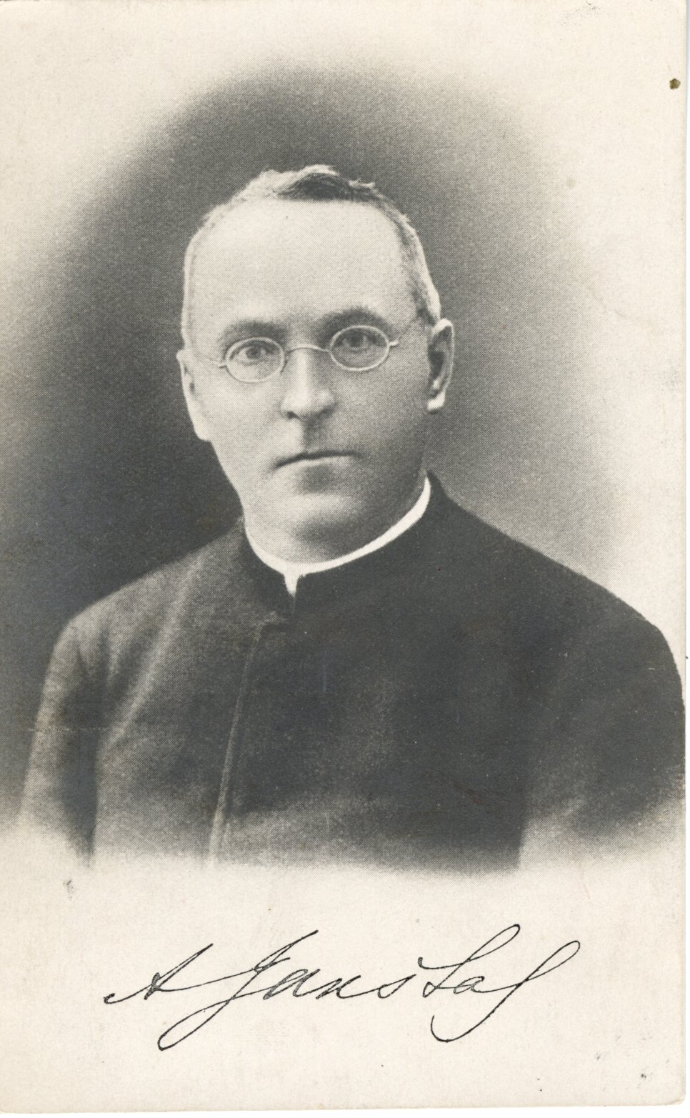 A. Jakštas-Dambrauskas. Apie 1905 m.