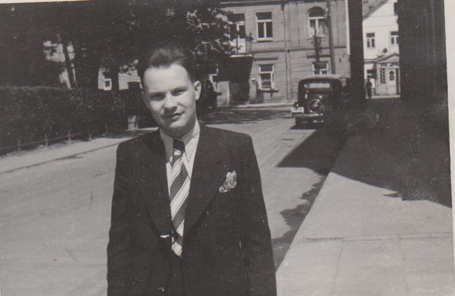 Stepas Zobarskas apie 1939 m. Kaunas