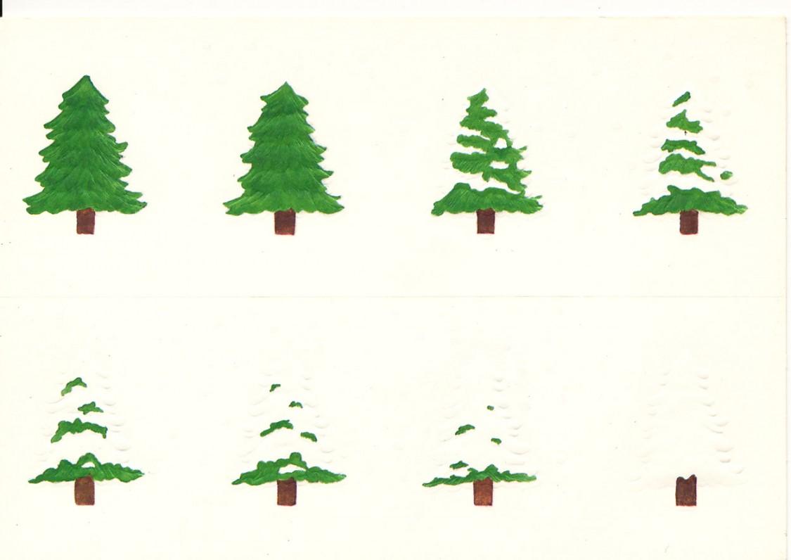 A. Čepėnienės Kalėdų ir Naujųjų metų sveikinimas A. ir S. Santvarams. JAV, 1981 m.