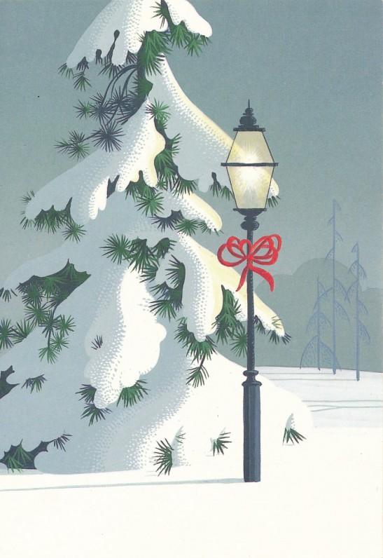 A. Čepėnienės Kalėdų ir Naujųjų metų sveikinimas A. ir S. Santvarams. JAV, 1984 m.