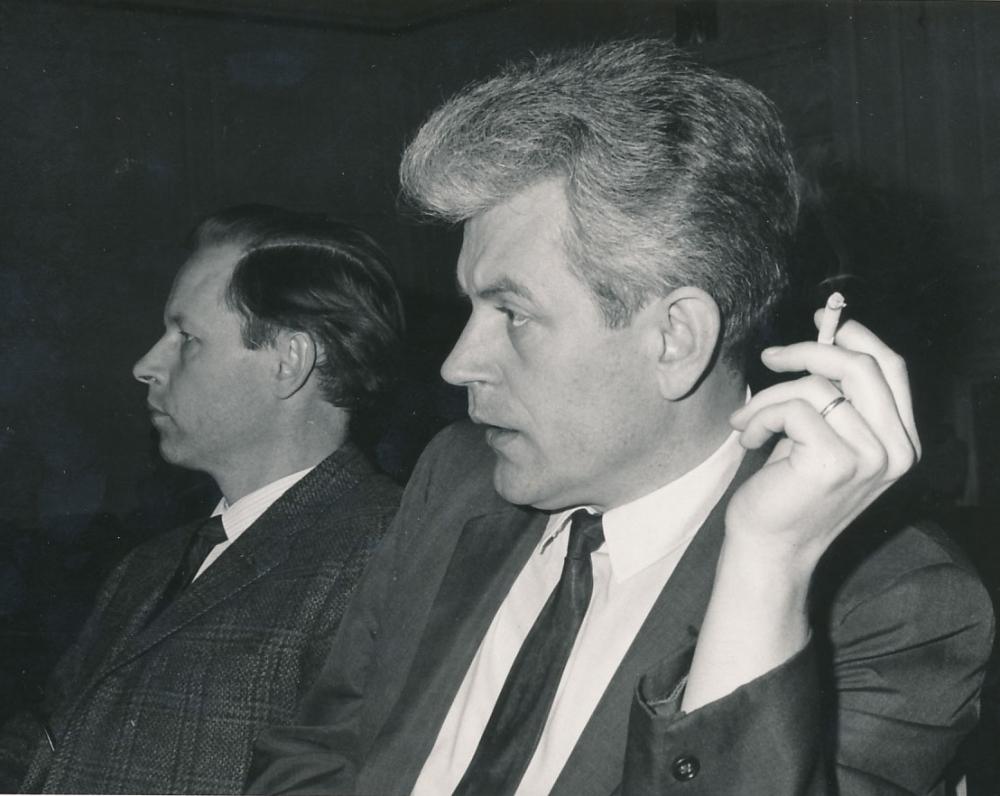 A. Nyka-Niliūnas ir K. Ostrauskas. JAV, 1967 m.