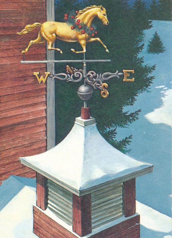 A. Rimvydžio Kalėdų ir Naujųjų metų sveikinimas A. ir S. Santvarams. JAV, 1982 m.