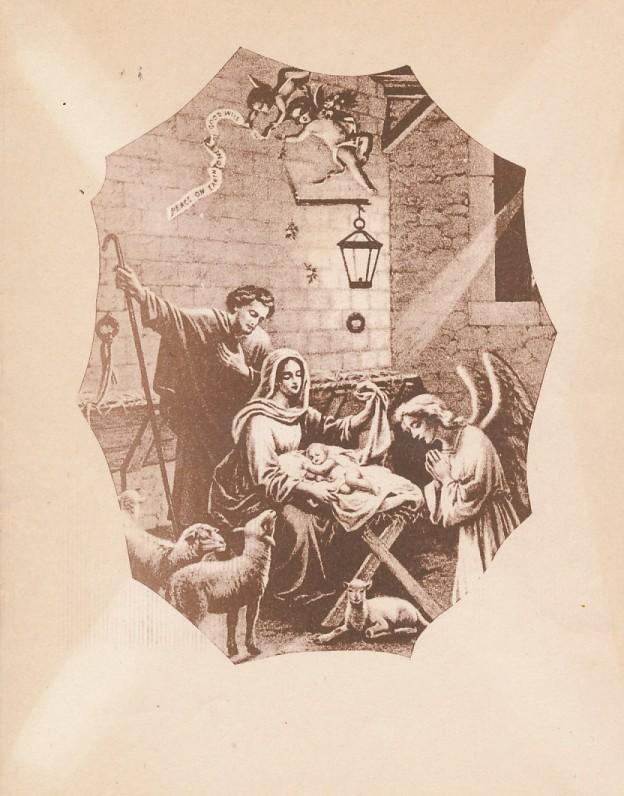 A. Vaičiulaičio Kalėdų ir Naujųjų metų sveikinimas A. Nykai-Niliūnui