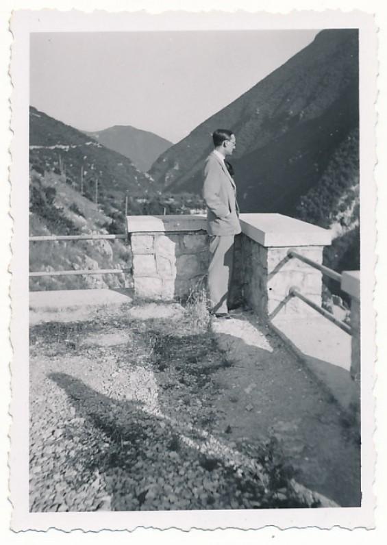 A. Vaičiulaitis. Italija, apie 1940 m.