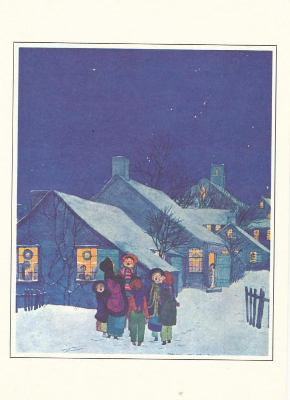 A. ir P. Čepėnų Kalėdų ir Naujųjų metų sveikinimas S. Santvarui. JAV, 1978 m.