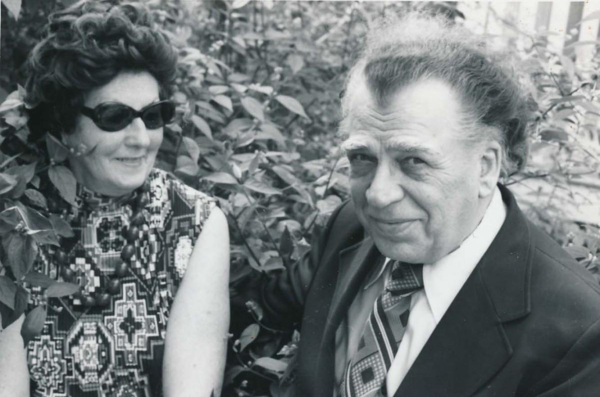 Aleksandra ir Antanas Gustaičiai. Bostonas, apie 1980 m.