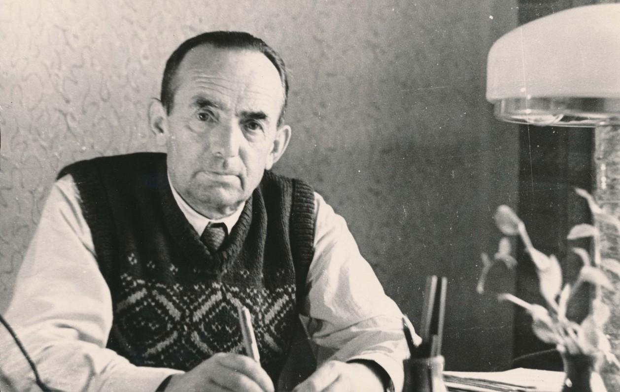 Antanas Miškinis. 1960 m.