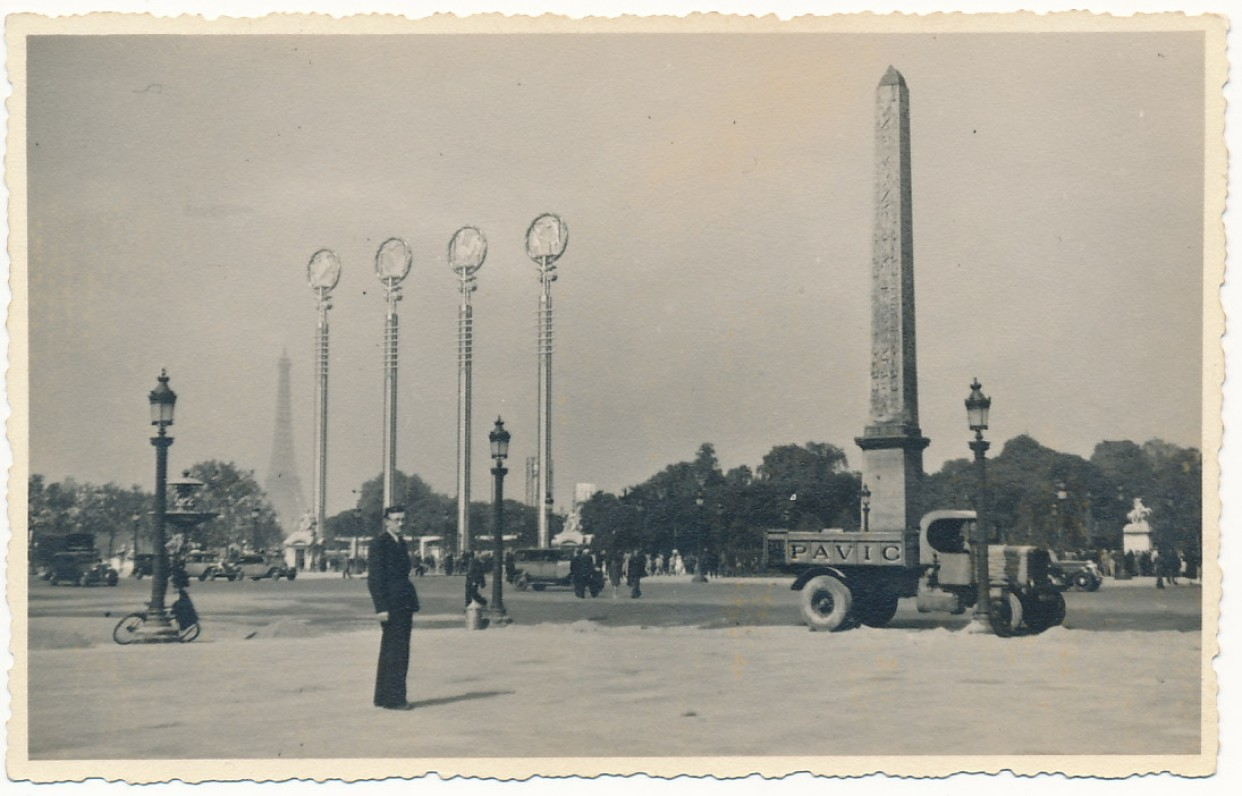 Antanas Vaičiulaitis. Paryžius, 1936 m.