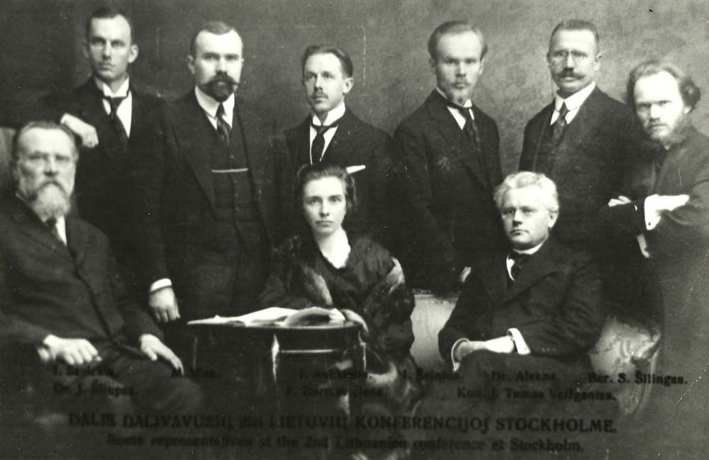 Antroji lietuvių konferencija Stokholme. 1917 m.