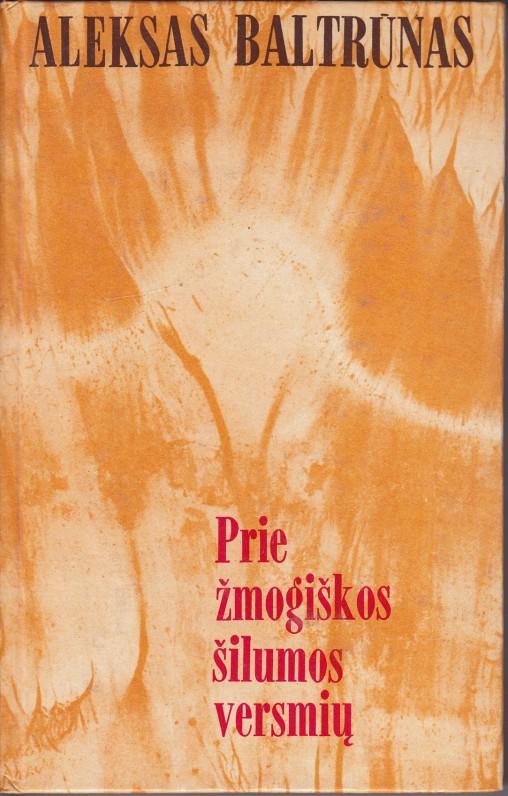 Apybraižos, kritikos straipsniai, esė. Vilnius, 1986 m.