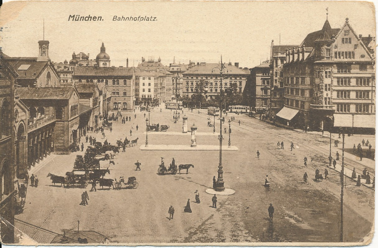 B. Sruogos atvirlaiškis V. Daugirdaitei iš Miuncheno. 1921 m.