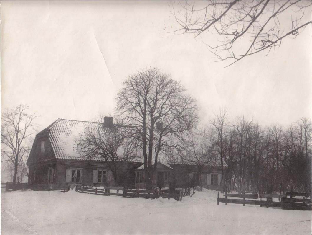 Balio Sruogos tėviškė Baibokai (Biržų r.). Apie 1930 m.