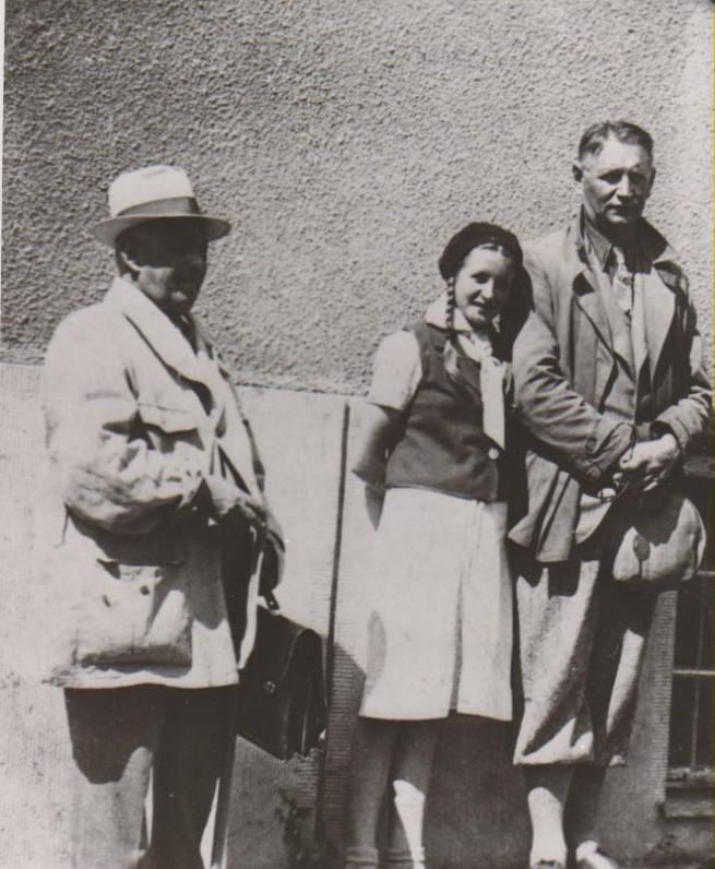 Balys Sruoga, Dalia Sruogaitė, Vincas Mickevičius-Krėvė. Kelionė po Vilniaus kraštą. 1939 m.