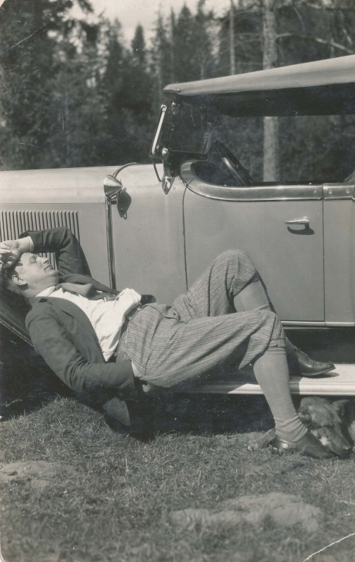 Balys Sruoga. Apie 1930 m.